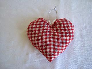 Scandanavian Inspired Heart Cushion