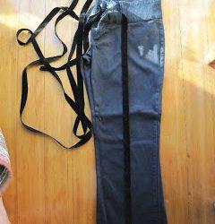Using Velvet Ribbon to make Tuxedo Trousers