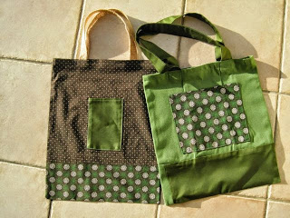 Tribal Print Tote Bag + FREE Pattern Instructions