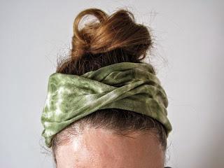 Turban Headband from a T-shirt