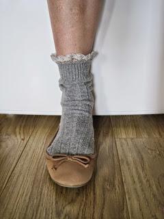 Lace Edged Socks