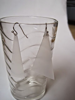 Plastic Packaging Earrings