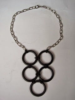 Curtain Ring Choker Necklace