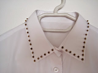 Beaded Shirt Collar