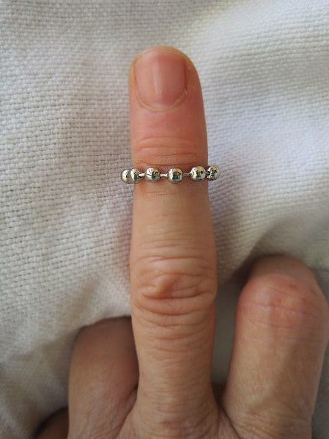 Easy DIY Finger Tip Rings