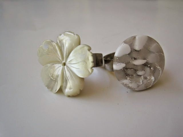 Shell Flower Ring – DIY
