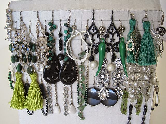undefined & Easy Earring Storage Ideas - Greenie Dresses For Less