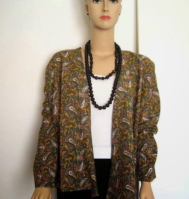 Kimono Jacket Sewing 76