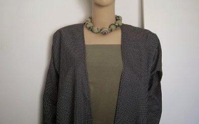 Summer Longsleeve Kimono Jacket + FREE Sewing Pattern