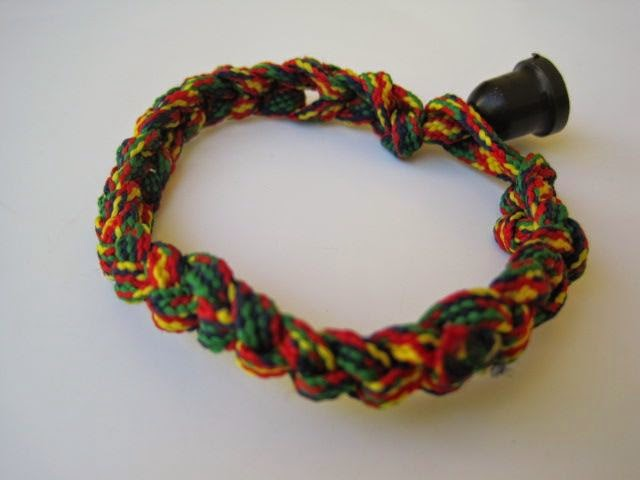 Rope and Toggle Bracelet