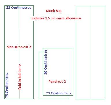 Monk Bag FREE Sewing Pattern