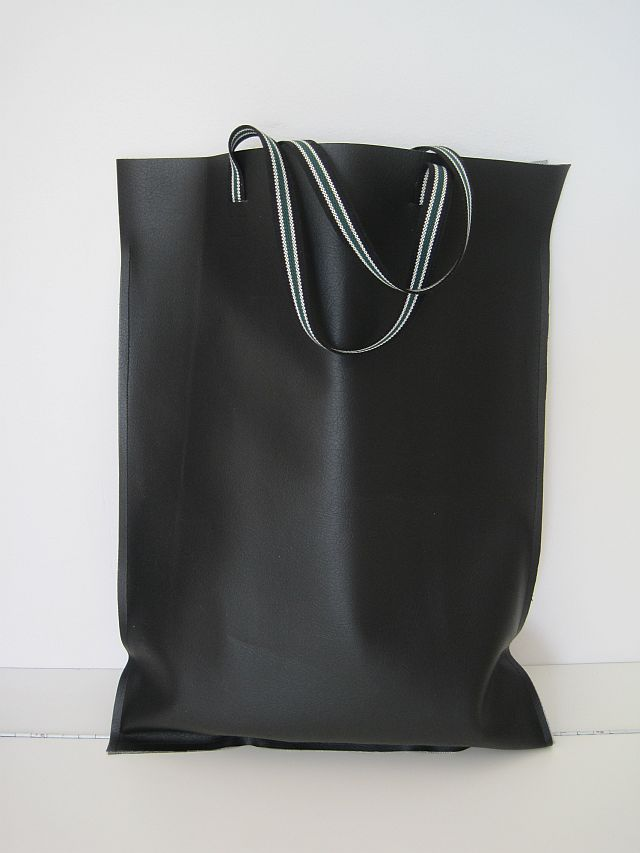 Pleather Tote Bag