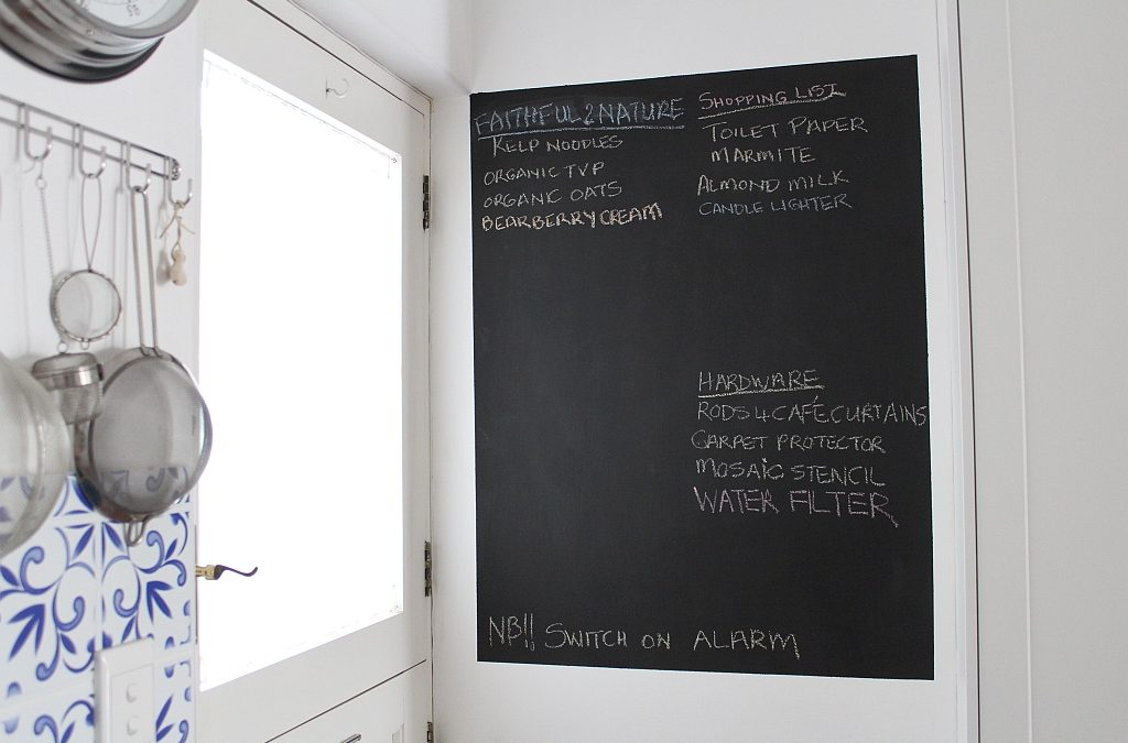 How to Make a Chalkboard on a Wall