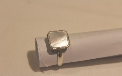 Father's Day Cuff Link Ring