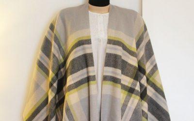Blanket Poncho Tutorial