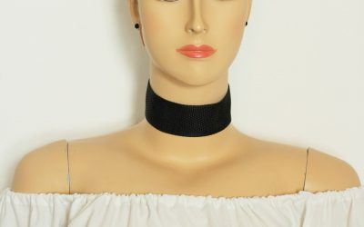 Wide Choker Necklace