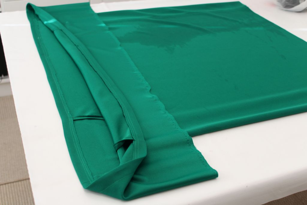 Fold over and sew