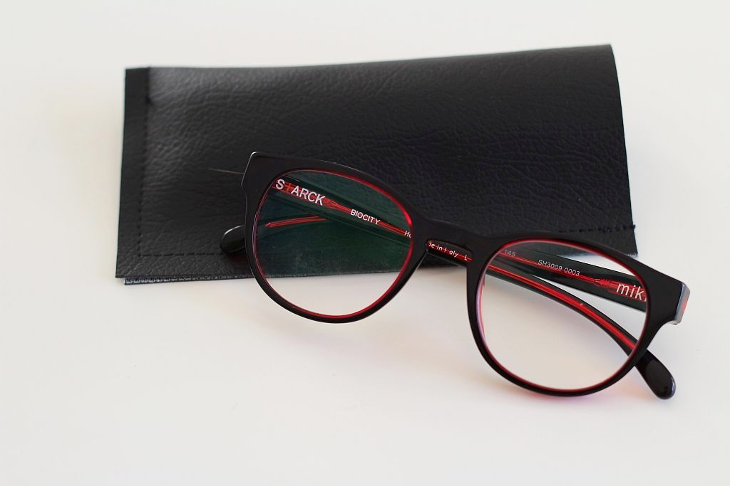 Pleather Spectacle Case