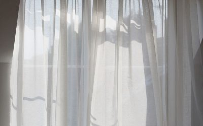 Muslin Curtains Two Ways