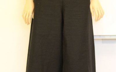 Black Culottes Tutorial
