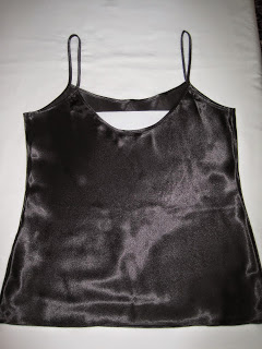 Original Lingerie Top that Inspired the Slip Tops, Cutting a Pattern