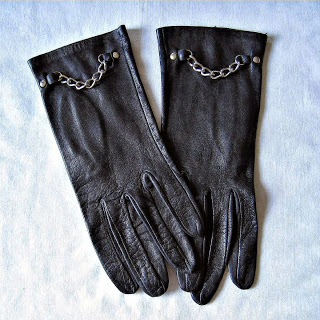 Lagerfeld Inspired Vintage Gloves