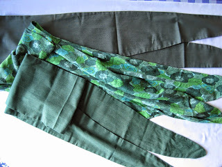Skinny Scarves, How to Make