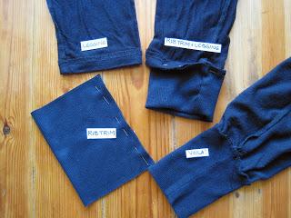 Turn Leggings into Turkish or Harem Pants Using Rib Trim, How to