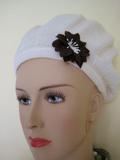 Hair Clip on Beanie Hat