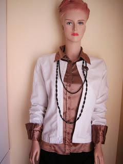 White Denim Box Style Jacket