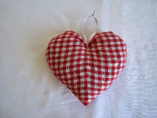Scandanavian Inspired Heart Cushion