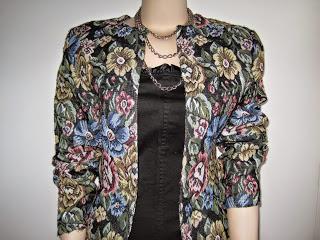 Very Easy Tapestry Box Jacket
