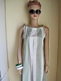 DIY Triangle Sun Dress