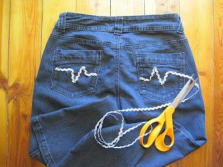 Faux Designer Jeans