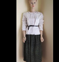 African Maxi Length Skirt