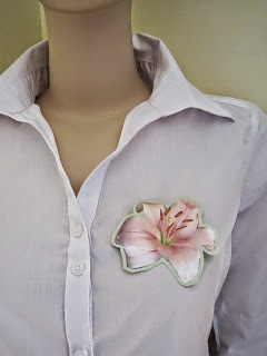 How to Make a Flower or Animal Shape Brooch