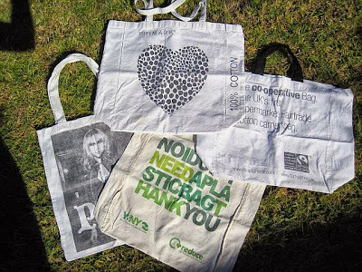 Re-usable Cloth Bags as Souvenirs and Gifts