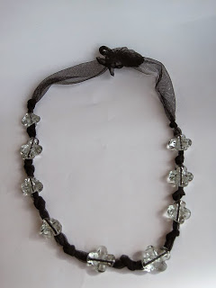 Hand Made Glass Beaded Necklace