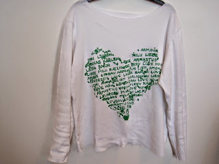 Slouchy Slogan T-Shirt