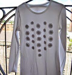 DIY Sparkle Embellished Top