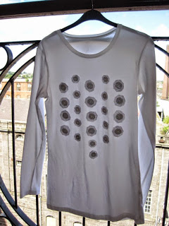 DIY Sparkle Embellished Top
