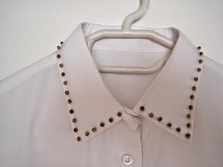 Beaded Shirt Collar