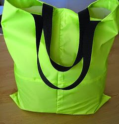 Neon Tote Bag + FREE Pattern Instructions