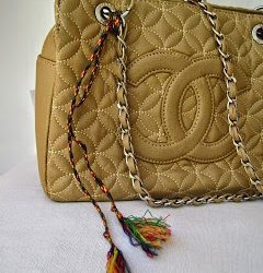 Tribal Inspired Handbag Decoration
