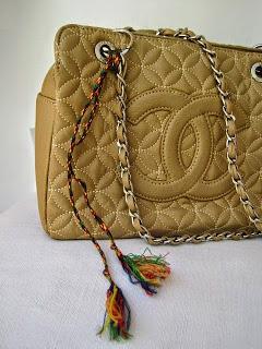 Tribal Inspired Handbag Decoration