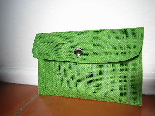 DIY Placemat Clutch Bag