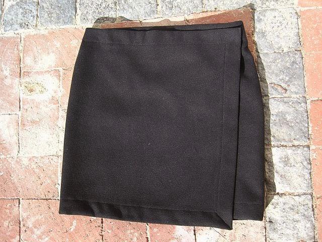 DIY Wrap Skirt + FREE Pattern Instructions