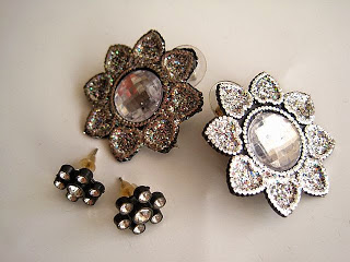 Diamante Stud Earrings