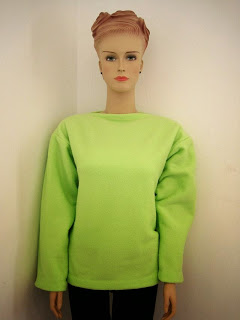 Lime Green Sweater + FREE Pattern Instructions