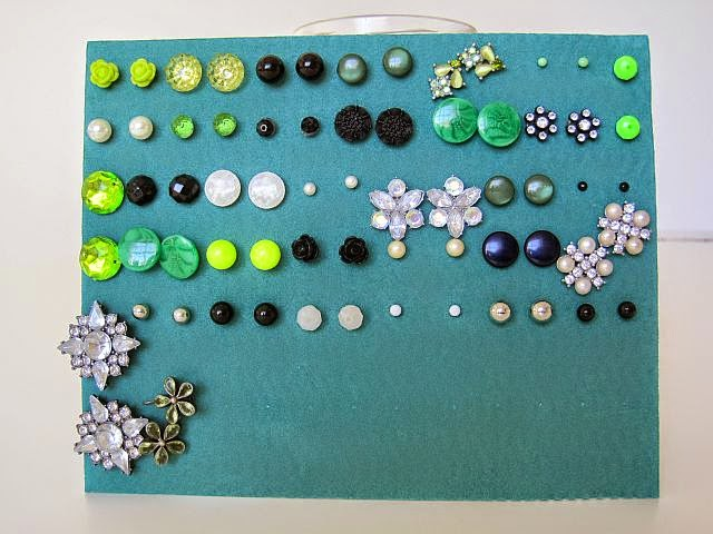 how to store stud earrings easy earring storage ideas greenie dresses for less 582